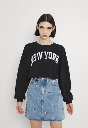 ONLESSA LIFE O NECK - Sweater - black/white