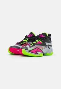 Jordan - JORDAN ONE TAKE 3 UNISEX - Basketball shoes - wolf grey/pink prime/electric green - 1