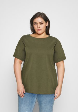 CARKAYLEE LIFE - Basic T-shirt - kalamata