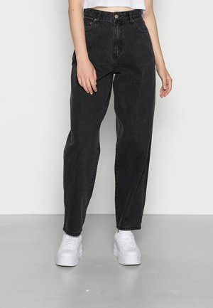 BELLA - Jeansy Relaxed Fit - concrete black