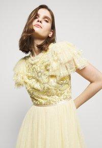 Needle & Thread - SHIRLEY RIBBON BODICE  DRESS - Suknia balowa - lemon curd - 3