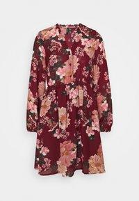 VMSUNILLA DRESS  - Denní šaty - cabernet/sunilla