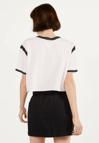 Bershka - A-line skirt - black - 2