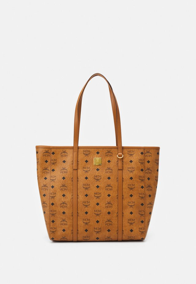 TONI VISETOS SHOPPER MEDIUM - Shopping bag - cognac