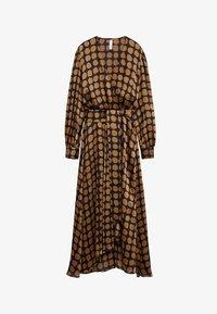 Mango - SABI - Denní šaty - karamel - 6