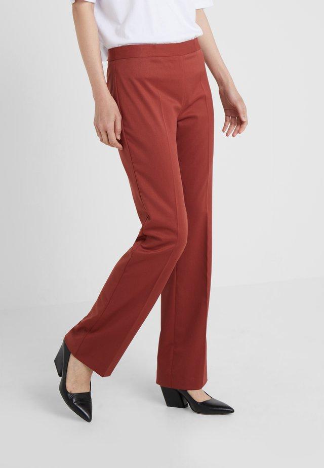 JULY - Pantaloni - red ochre