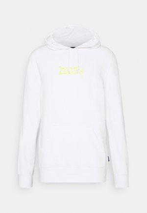 TYPE HOODIE - Hoodie - white