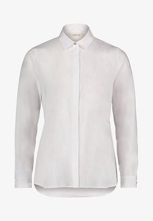MIT KRAGEN - Button-down blouse - white