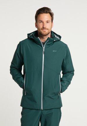 Outdoor jacket - dark moss green