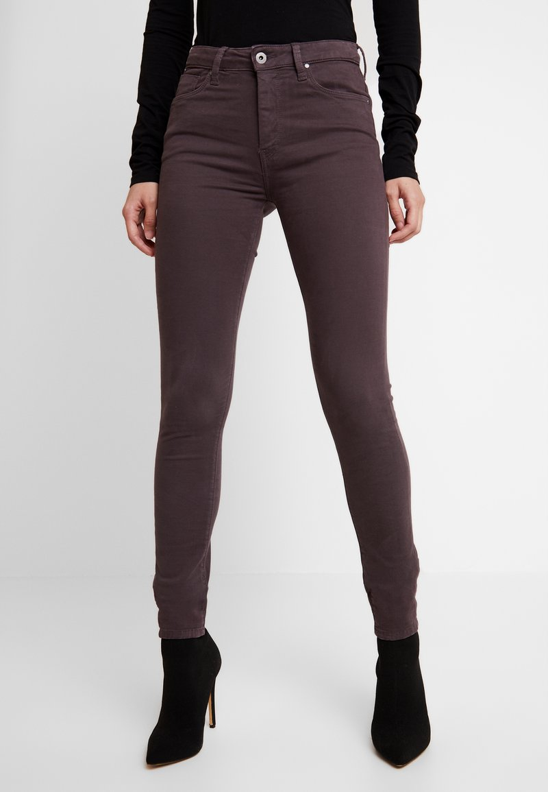 Pepe Jeans - Tygbyxor - stretch color