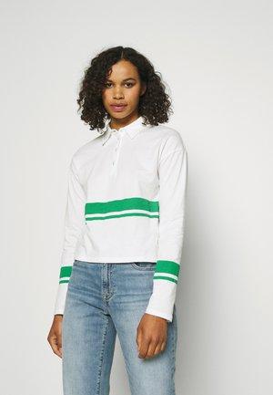 ONLLIMA - Poloshirt - white/green