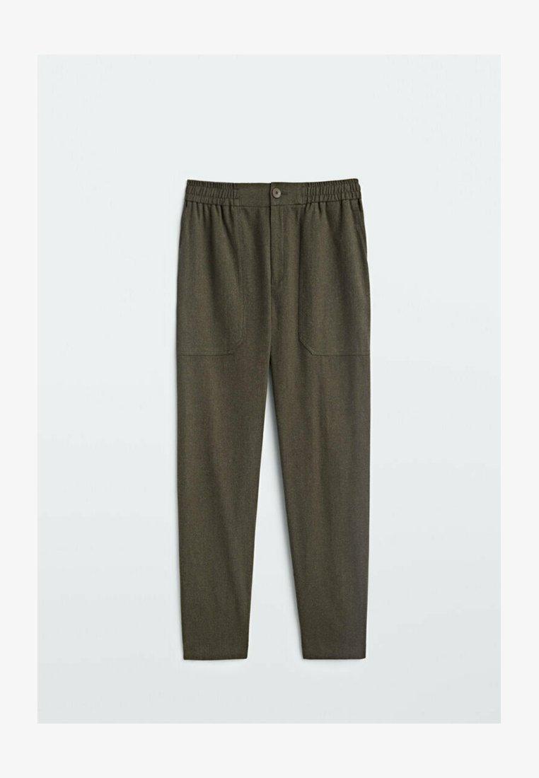 Massimo Dutti - Pantalon classique - khaki