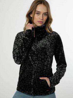 PACO - Fleece jacket - true black