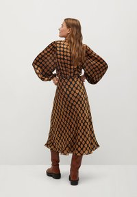 Mango - SABI - A-line skirt - karamell - 2