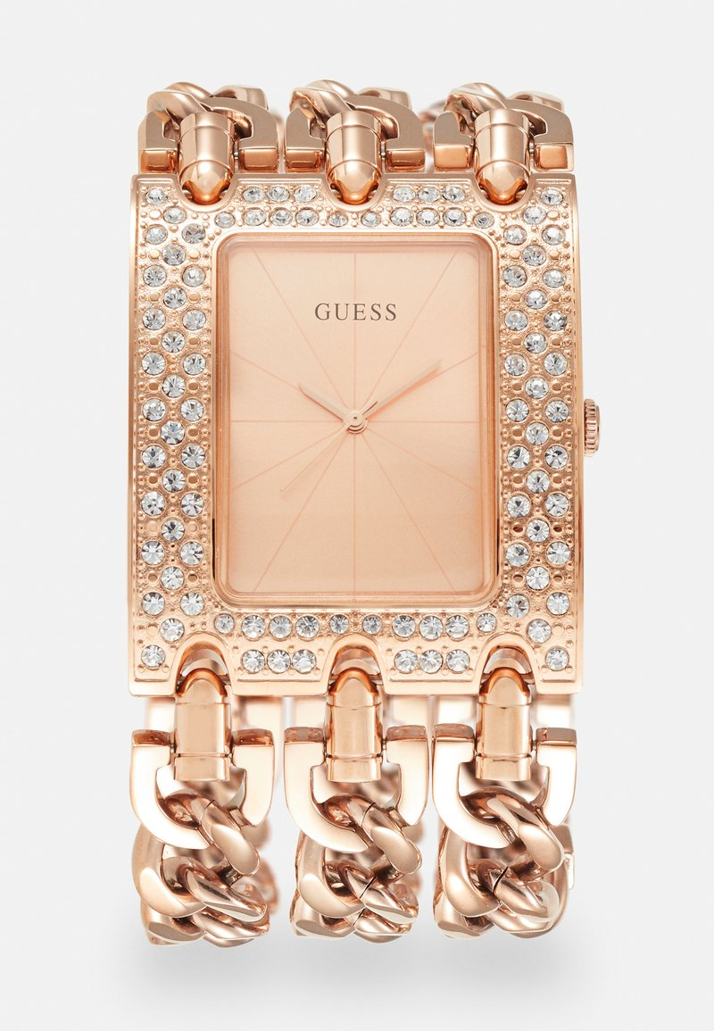 Guess - Hodinky - rose gold tone