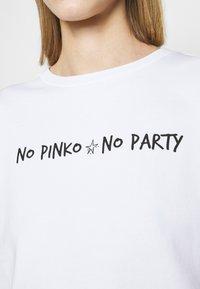 Pinko - ALGEBRA MAGLIA - Mikina - white - 5