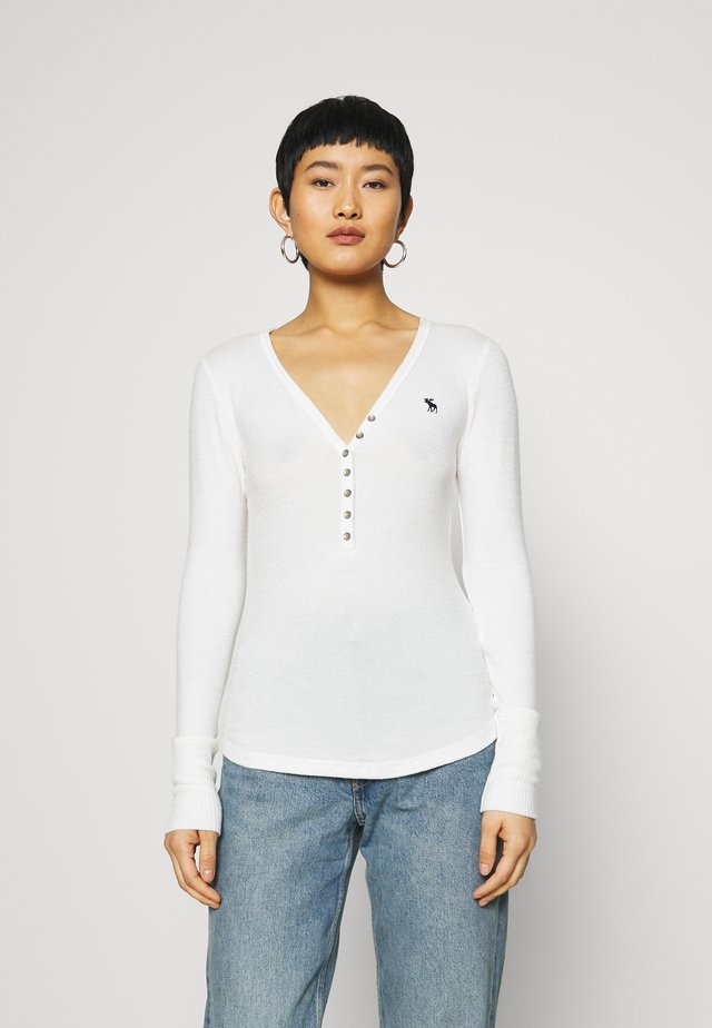 COZY HENLEY - Jumper - white