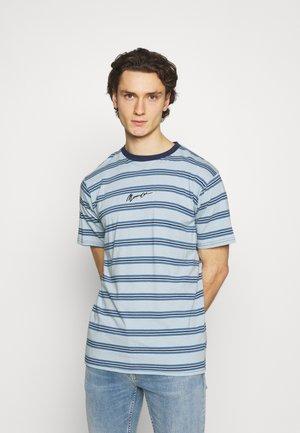 CLASSIC HORIZONTAL STRIPE UNISEX - Print T-shirt - light blue