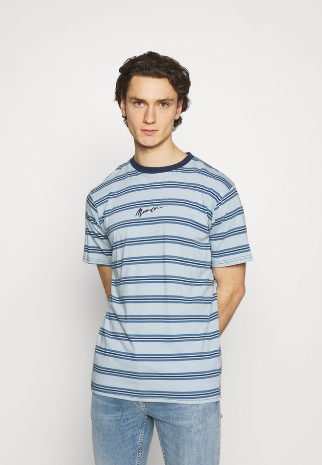 CLASSIC HORIZONTAL STRIPE UNISEX - Triko s potiskem - light blue