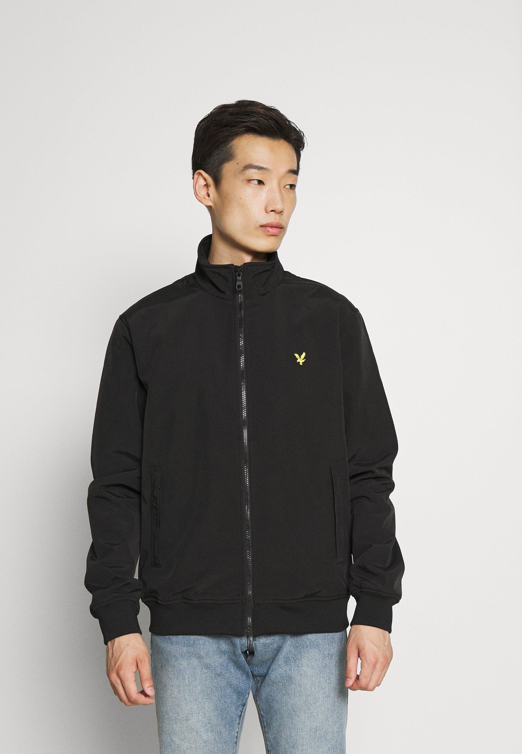 Men FUNNEL NECK JACKET - Summer jacket