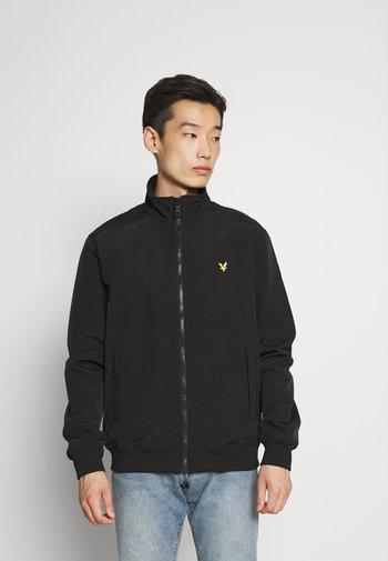 FUNNEL NECK JACKET - Summer jacket - jet black