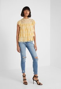 Needle & Thread - ANGELICA LACE TOP - Bluser - washed yellow - 1