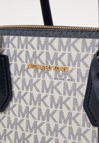 MICHAEL Michael Kors - BELTED SATCHEL - Handbag - navy/multi - 5