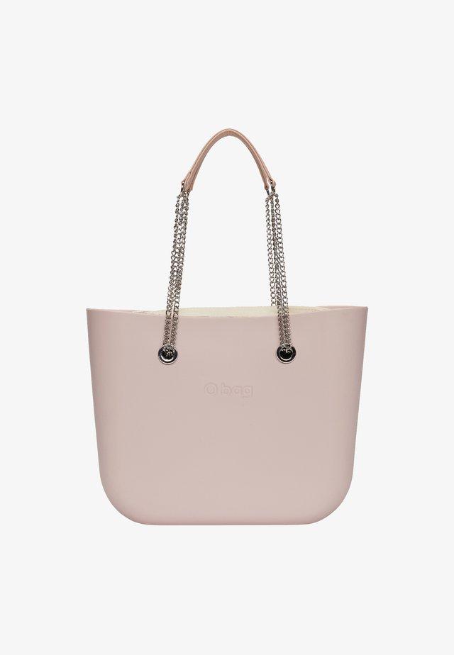 Shopping bag - rosa smoke-metallo