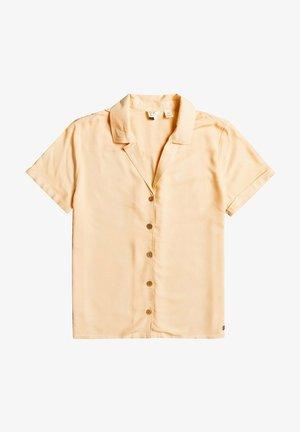 Button-down blouse - apricot ice