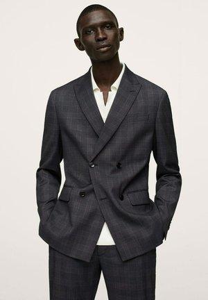 VESTE - Suit jacket - gris