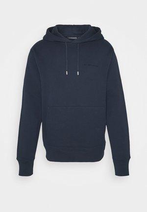CHIP POCKET HOODIE - Sweatshirt - navy