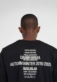 Damir Doma - TIES - Print T-shirt - black - 5