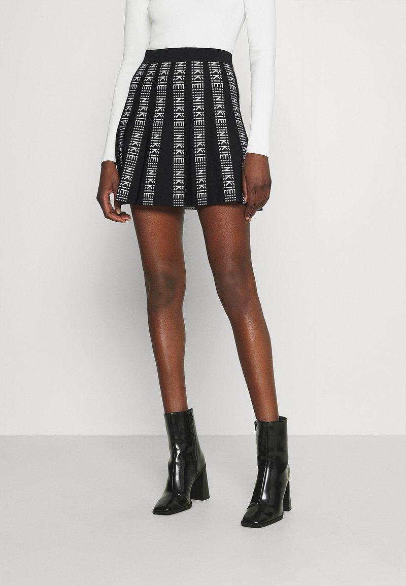 NIKKIE - KATY SKIRT - Mini skirt - black
