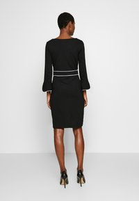 Anna Field - Shift dress - black/white - 2