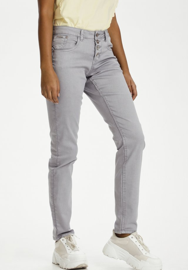 CRLOTTE  - Jeans slim fit - silver sconce