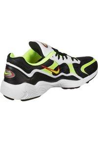 Nike Sportswear - Sneakers - black/volt-habanero red-white - 6