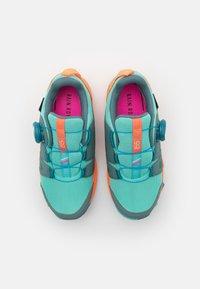 adidas Performance - TERREX  AGRAVIC BOA R.RDY UNISEX - Hiking shoes - hazy emerald/acid mint/screaming orange - 3