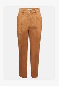 Esprit - FASHION - Trousers - rust brown - 5