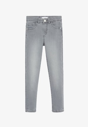 SKINNY - Slim fit jeans - denim grey