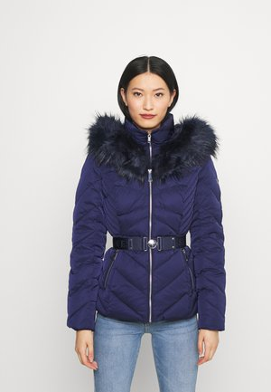 SARA SHORT JACKET - Piumino - blue jam