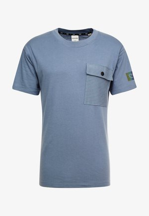 JCOHORCH TEE CREW NECK AMERICAN FIT - T-shirts med print - china blue
