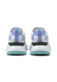 Puma - RS-FAST POP WN'S - Trainers - puma white-elektro pool-elektro purple - 3