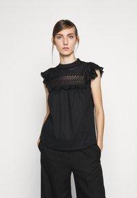 J.CREW - PATRICIA - Blouse - black - 0
