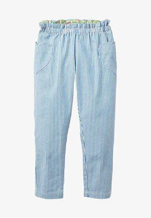 Trousers - mittleres vintageblau, denim
