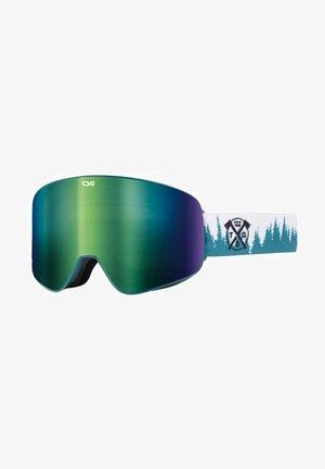 FOUR S - Ski goggles - trees/green chrome