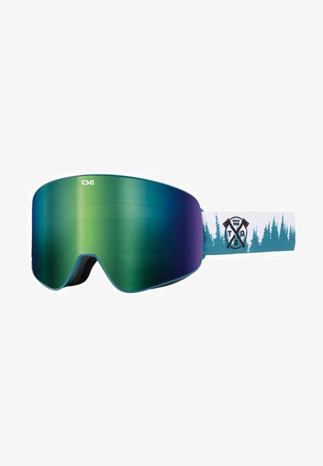 FOUR S - Masque de ski - trees/green chrome