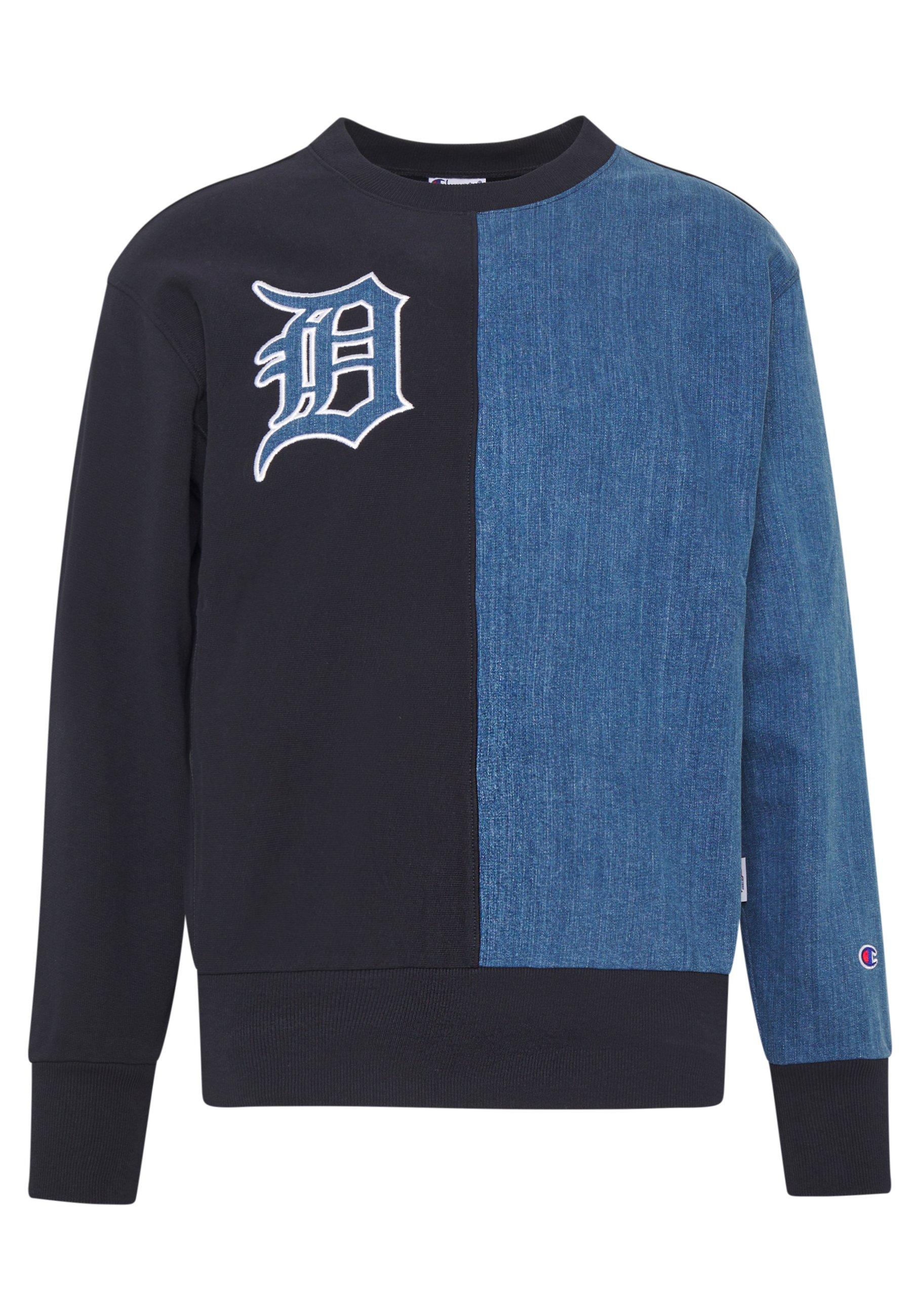 Champion MLB DETROIT TIGERS CREWNECK Sweatshirt dark
