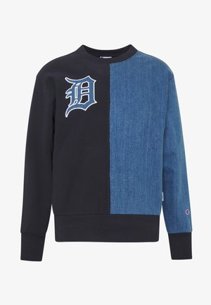 MLB DETROIT TIGERS CREWNECK - Sudadera - dark blue