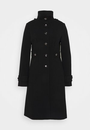 DOUBLE COAT - Classic coat - black