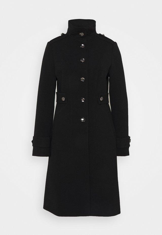 DOUBLE COAT - Klasyczny płaszcz - black